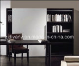 Modern Style Living Room Wood Bookshelf