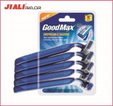 Classic Disposable Razor in Blister Twin Blade Shaing Razor Blade