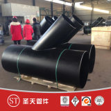 Stainless Steel Reducing Pipe Fitting Tee