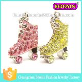 Spanish Roller Skate Crystal Jewelry Fashion Accessories #3765