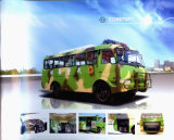 Dongfeng EQ6670PT 4X4 Bus/off Road Bus