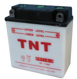 Motorcycle Battery, Rechargeable Battery, Lead Acid Battery (6N 11A-3)