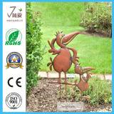 Garden Metal Duck Statue Yard Art Iron Figurine