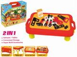 Luxury Tool Play Set Toy Tool Desk Tool Box (H1605077)