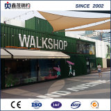 Dismountable Expandable 20 FT Container House for Retail Shop