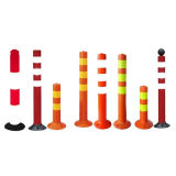 Road Traffic Safety Spring Warning Column with CE