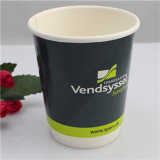 fashion Style Logo Printed Custom Disposable Paper Cup