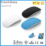 New Product Gift Item Comfortable Touching White Latest Touch 2.4G Wireless Mouse