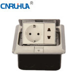 High Qualtiy Easy Use German Round and Flat Floor Socket