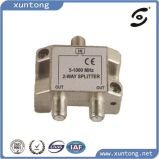 Ce 3G 10-3000MHz All Ports Power Passing Digital Indoor 4 Way CATV Splitter