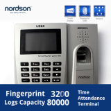 WiFi Embedded Finger Key Time Attendance Software (U260)