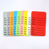 Colorful Paper Price Tag Card