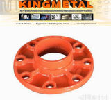 Fire Fighting 3 Inch Cast Iron Grooved Flange Adapter.