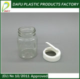Pet 60ml Round Shape Plastic Medicine Bottle