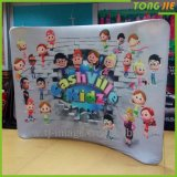 Curved Fabric Backdrop Wall Pop up Booth Display