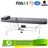 Powder Coated Steel Height Adjustable Electric Exam Table with Pillow