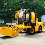 Hot Sale! 3CBM Diesel Concrete Mixer with Self-Loading Function