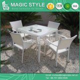 Rattan Dining Chair Wickertable Garden Chair Stackable Chair Hotel Project (Magic Style) Foshan