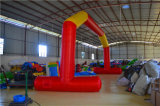 Red Inflatable Air Arch with Logos for Advertising