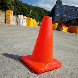 Small Solid Orange PVC Fluorescent Road Cones Safety Cones