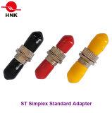 St Simplex Singlemode Multimode Standard Metal Fiber Optic Adapter