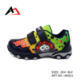 Sports Cartoon Slip-on Walking Shoes for Children Ak621