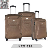 Cheap 4 Wheels 1200d Polyester Soft Trolley Luggage