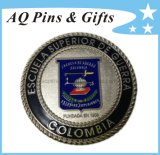 Zinc Alloy Coin in Glitter +Foggy, Metal Coin, Military Coin