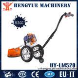 Manual Durable Handpush Brush Cutter with Wheels Lawn Mower