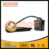 Wisdom Kl5m Mining Cap Lamp with Cable, Water Proof Headlamp