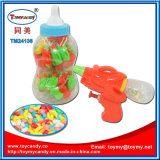 Plastic Bottle Water Gun Kid Toy with Candy