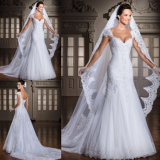 Lace Bridal Gowns Sweetheart Tulle Classic Bridal Wedding Dresses Y1612