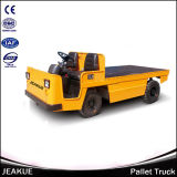Factory Price 3.0t Platform Full Electric Tractor Trailer Truck
