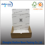 Brown Corrugated Paper Box with Inside Printing (QY160363)
