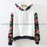 Stylish Women Cotton Polyester Hoodies (ELTHSJ-505)