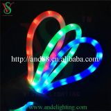Thin Round Milky Tube Installation of Neon Rope Lights