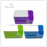 Home Plastic PP Sundries Makeup Cosmetic Storage Box Desktop Organizer