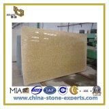 Natural Polished Yellow River Granite Slab for Countertop & Vanitytop (YQC)