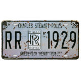 New Style Cheap Metal Nameplate Licence Plate