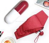 Portable Folding Anti UV Pocket Capsule Umbrella 5 Folding Mini Gift Umbrella