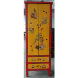 Ancient Furniture Hand Painted Cabinet (LWA363)
