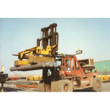 Rectangular Type Electromagnet on Forklift for Handling Round Steel