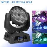 3W 108PCS RGBW LED Moving Head Light Wash