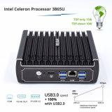 New Item Celeron Computer 3865u Pfsense Router with 6 Intel Gigabit LAN 4USB COM (Fanless system)