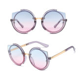 2017 New Women Round Frame Arab Picture UV400 Branded Sunglasses Cj2762 in Stock
