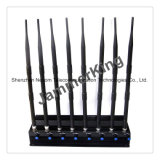 Eight Antennas Signal Jammers for 2g+3G+2.4G+Remote Control+Gpsl1+Lojack