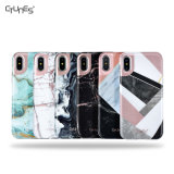 Shockpoof Marble Phone Case for iPhone X Case, Marble IMD Design Slim Smooth PC Back Cover TPU Bumper Case for iPhone X