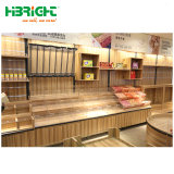 Double Side 2 Layer Wooden Vegetables Fruit Rack