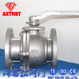 JIS 10K Full Bore Flanged Ball Valve with Lever Operation