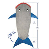 Children Mermaid Tail Plush Blanket Kids Sleeping Bag